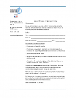 Dossier d'inscription Ecole Le Blé en Herbe de Coaraze